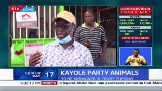 More than 24 people arrested drinking in a bar in Kayole