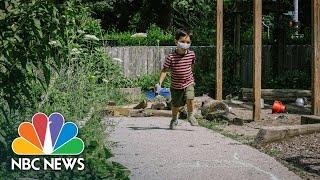 Open Air Classrooms: A Social-Distancing Experiment In Education | NBC News
