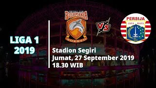 Sedang Berlangsung! Live Streaming Indosiar Liga 1 2019 Borneo FC Vs Persija Jakarta Jumat (27/9)