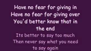 Say What You Need To Say by John Mayer