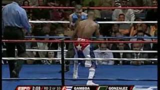 Yuriorkis Gamboa Vs  Roger Gonzalez Part 1/4