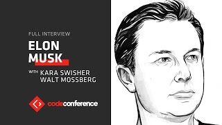 Elon Musk | Full interview | Code Conference 2016