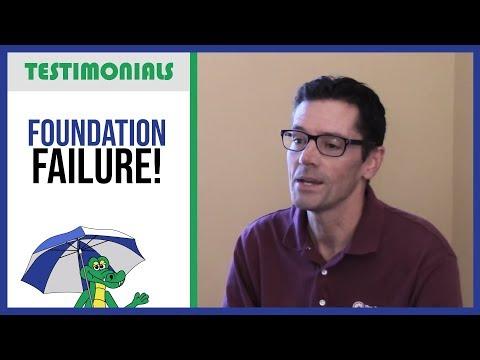 🐊 Foundation Failure! (foundation repair) - Dry Guys Testimonial