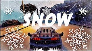 Gta V   Ultra Realistic Winter Snow   Christmas Eve 2017
