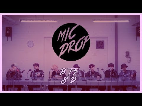 BTS (방탄소년단) - MIC DROP (STEVE AOKI REMIX) [8D USE HEADPHONE] 🎧
