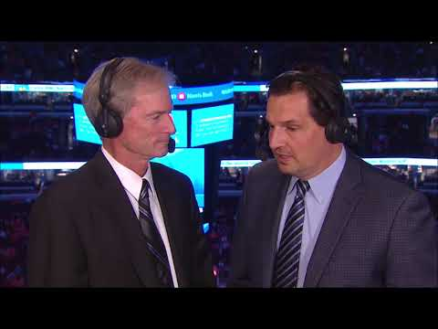 Eddie Olczyk interview with Pat Foley - 10/05/17