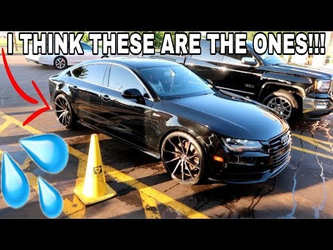 I FINALLY FOUND THE EXACT RIM I WANT OFF THIS AUDI A7!!!