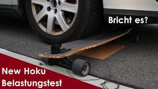 Mit dem AUTO übers Longboard fahren - Jucker Hawaii New Hoku & Amazon billig Longboard Härtetest