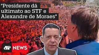 Trindade: Bolsonaro acaba de anunciar uma ruptura