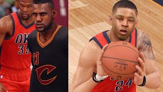 NBA LIVE 16 Rising Star - Shooting Like Curry! A BLOWOUT In Cleveland?!