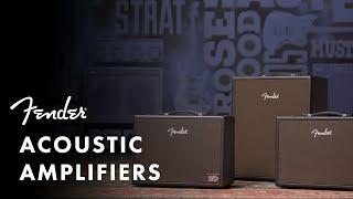 Fender Acoustic Junior Video