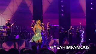 """Mariah Carey Live On Her """" Caution World Tour """" In NYC At Radio City Music Hall"""