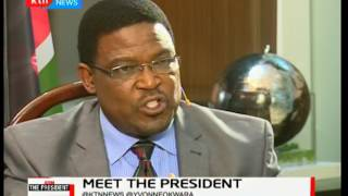 Meet the President: Independent Presidential candidate Dr. Jeff Kaluyu part 2