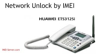 Unlock Huawei ETS3125i from Megafon Russia