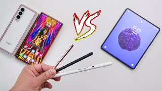 Galaxy Z Fold 3 S Pen Pro vs Note 20 Ultra: S Pen Fold Edition Better?