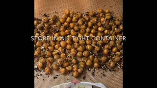 Roasted Chickpeas-A Pantry Staple