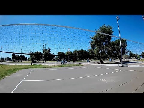 Geprc CineEye 79HD Modded - FPV Cactus Park Around Tennis/Basketball Courts
