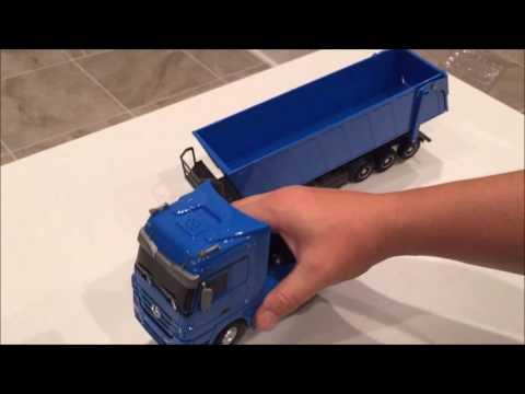 Remote Control RC Dump Truck Review – Mercedes Benz
