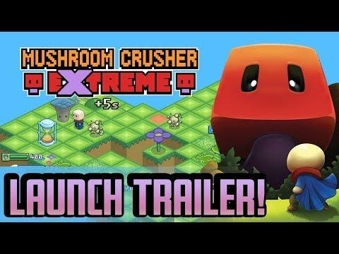 Mushroom Crusher Extreme - Launch Trailer [Isometric Arcade-Action Game] thumbnail