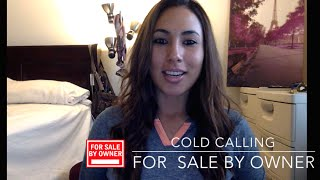 For Sale By Owner Live Call