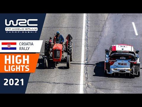 WRC 2021 第3戦ラリー・クロアチア ハイライト動画