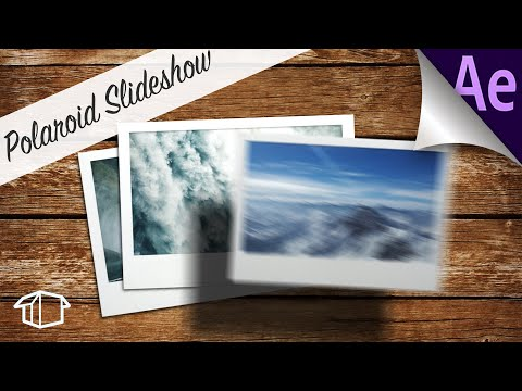 Polaroid Slideshow & Intro to Graph Editing – Tutorial Adobe After Effects CS6