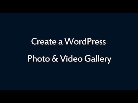 WordPress Photo & Video Gallery