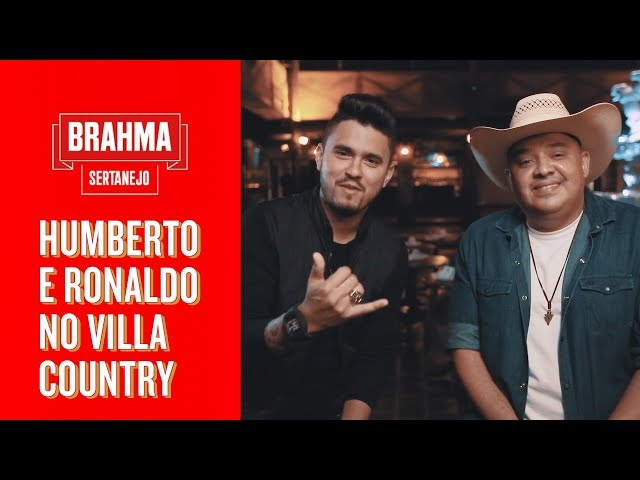 HUMBERTO E RONALDO NO VILLA COUNTRY