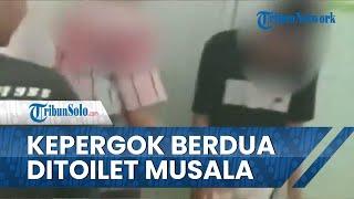 Viral Video Sejoli Bocah Tertangkap Basah Berduaan di Kamar Mandi Musala di Pekalongan