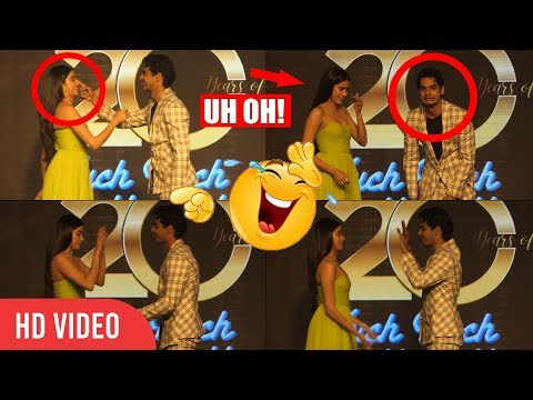 Janhvi Kapoor and Ishaan Khattar Kuch Kuch Hota Hai Moment GONE WRONG 😂😂😂