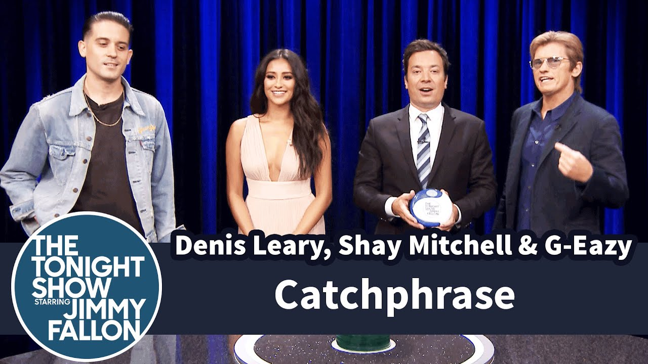 Catchphrase with Denis Leary, Shay Mitchell and G-Eazy thumbnail