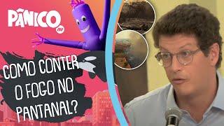 Ministro Ricardo Salles sobre queimadas no Pantanal: 'Que sirva de lição'
