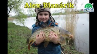 Alex Blanárik, zdolávanie životného kapra