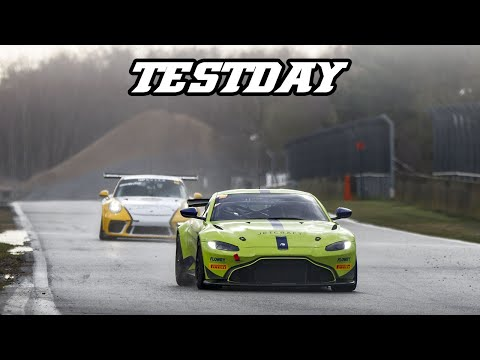 Vantage AMR GT4, 991.2 cup, RS3 LMS, Escort mk2,  Testday Zolder 2019-03-14