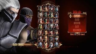 Mortal Kombat 9 - Expert Tag Ladder (Rain & Smoke/3 Rounds/No Losses)
