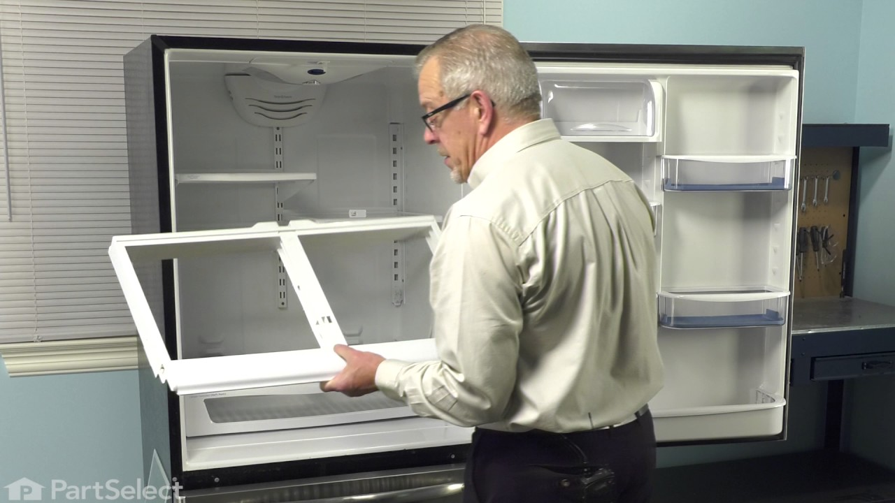 Replacing your Kenmore Refrigerator Crisper Drawer Cover Support
