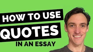 How to Quote in an Essay (5 Simple Steps)