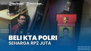 Seorang Pria Mengaku Polisi Ditangkap, Pelaku Beli KTA Polri Seharga Rp2 Juta