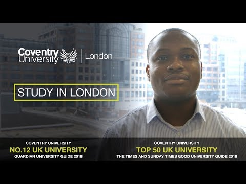 Study in London – Christopher