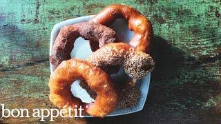 Dessert of the Year: Molasses-Bourbon Doughnut   Bon Appetit