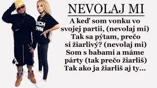 SIMA feat. KALI - NEVOLAJ MI (Text/Lyrics)