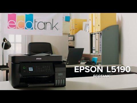 Multifuncional inalámbrica EcoTank L5190 ideal para emprendedores