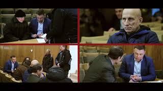 Віталій Купрій на зустрічі з виборцями в місті Дніпро.