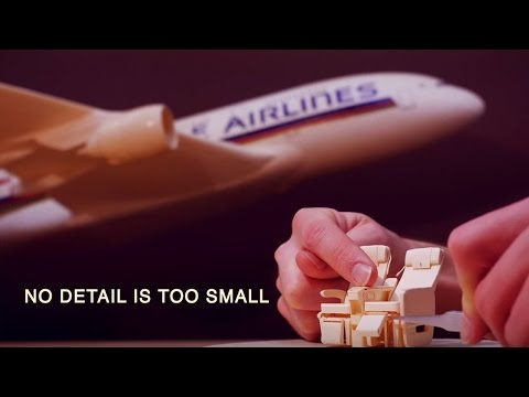 This Paper Plane Model Of An Airbus A380 Is So Ridiculously Detailed