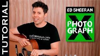 Cómo tocar Photograph en guitarra Tutorial guitar lesson   Guitarraviva