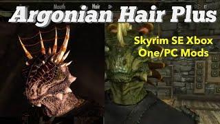 Argonian Hair Plus Skyrim SE Xbox One/PC Mods