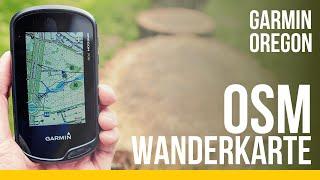 OSM Karte auf Garmin Oregon 700 laden   Routingfähige Topo Wanderkarte