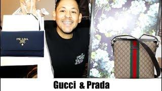 HUGE MENS GUCCI & PRADA UNBOXING HAUL | Gucci & Prada