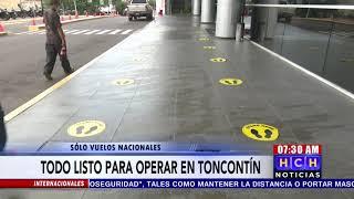 #Honduras Listo El Aeropuerto #Toncontín Para El Reinicio De Operaciones