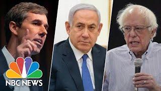 Watch: 2020 Democrats Blast Prime Minister Benjamin Netanyahu Ahead Of Israel Election | NBC News